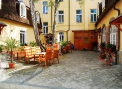 Outside-Erika restaurant for your coffea break and relaxation
