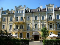 Pension in Franzensbad, Kurpension Erika, Kurhaus und Kurpension