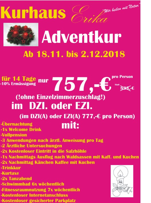 Adventkur 2018